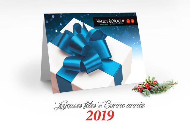 Joyeuses fetes et Bonne annee 2019