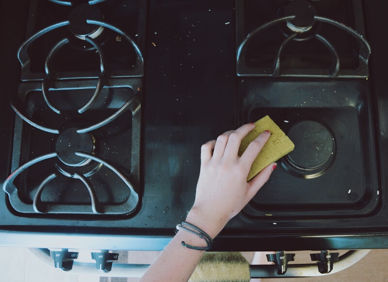 Kitchen Cleaning Tips Stove Cleaning